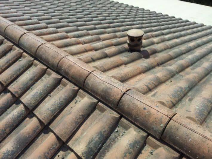 Le cuivre anti mousse pour une toiture for Anti mousse naturel toiture