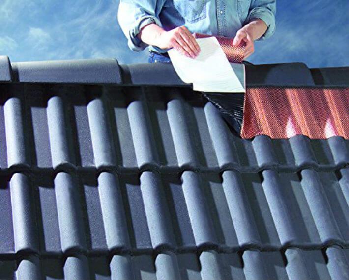 comment poser une bande de cuivre sur la toiture
