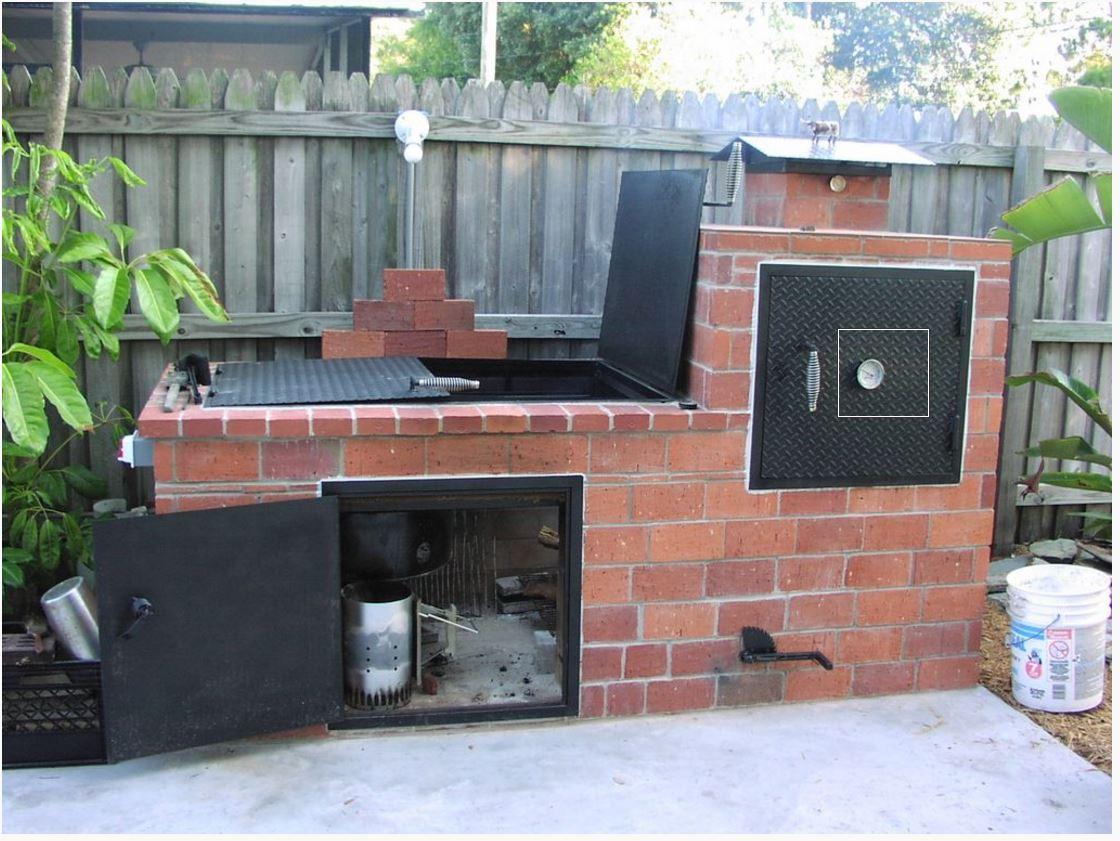 Porte Pour Foyer De Barbecue