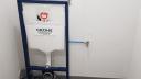 installation WC suspendu bloc porteur