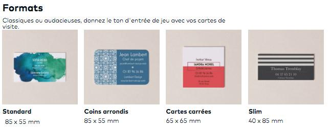Tarif De Cration Et Impression Dune Carte Visite Pas Cher