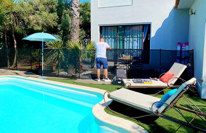 combien coûte barrière sécurité piscine