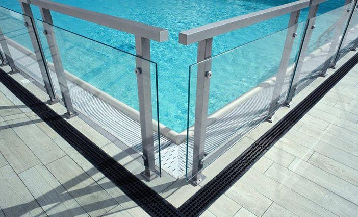 tarif pose barrière piscine verre